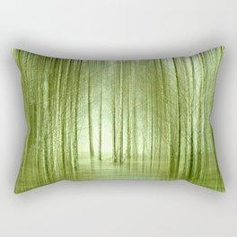 Birch forest 50 Rectangular Pillow