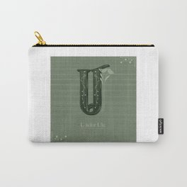 U is for Ule. Carry-All Pouch