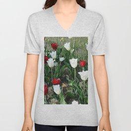 JC Floral Art 06 Unisex V-Neck