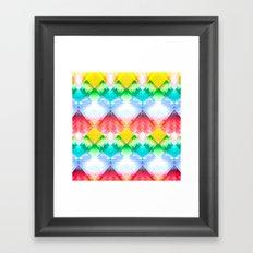 Crystal Rainbow Framed Art Print