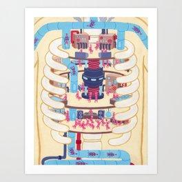 Anatomy Pt. II Art Print