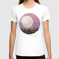 the moon T-shirts featuring moon by Laura Graves