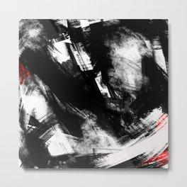 Brooklyn has fallen   Abstract Painting Metal Print