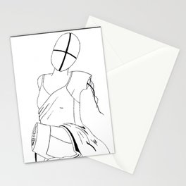 Deux Ex Stationery Cards