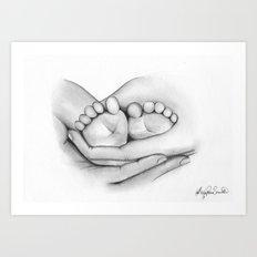 Precious memories - Ashley Rose Standish Art Print