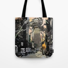 Martian attack Tote Bag