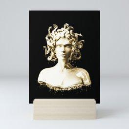 Gold Medusa Mini Art Print