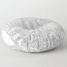 Rotterdam Floor Pillow