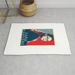 Kara Danvers POP ART Poster Rug