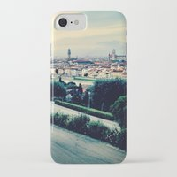 florence iPhone & iPod Cases featuring Florence by Rachel Weissman