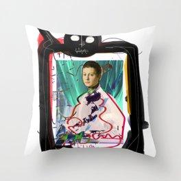 Bronzino and Signorino Street Art Graffiti Throw Pillow