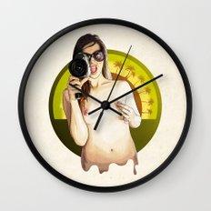 Miss California Wall Clock