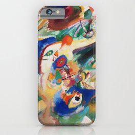 Kandinsky Sketch 2 for Composition 7 iPhone Case