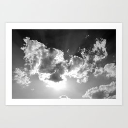 dark above Art Print