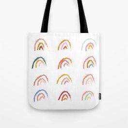 Rainbows - Pastel Tote Bag