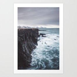 The Edge - Landscape and Nature Photography Art Print