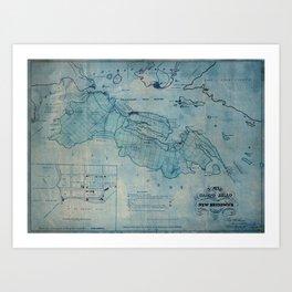 Campobello Island 1830 Art Print