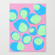 Pebble Collage Canvas Print