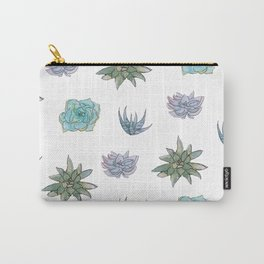 Succulent Pattern Carry-All Pouch