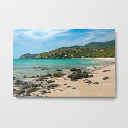 Paradise Beach Thailand Metal Print