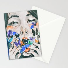 what do butterflies taste like? Stationery Cards