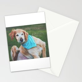 Moose Itching Stationery Cards
