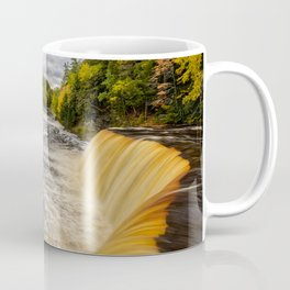 TAHQUAMENON FALLS MICHIGAN AUTUMN LANDSCAPE Coffee Mug