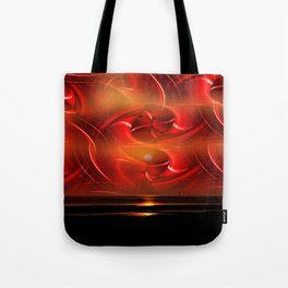 Abstract perfection - Sunst Tote Bag