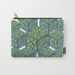 Cubed Mazes Carry-All Pouch
