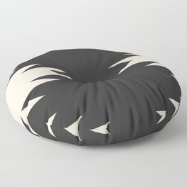 Minimal Southwestern - Charcoal Floor Pillow