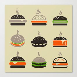 Hamburger2 Canvas Print