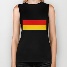 German flag - High Quality version both in scale and color Biker Tank