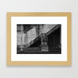virtues ~ fld(X part ii) Framed Art Print