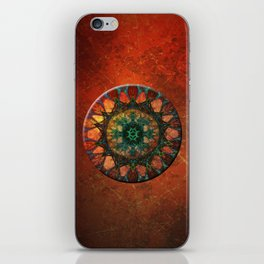 Sun Mandala iPhone Skin