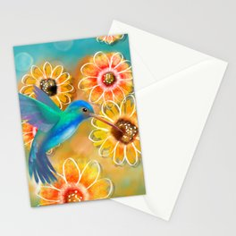 Hummingbird Bounty Stationery Cards