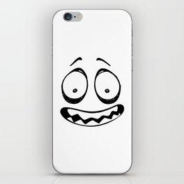 Scare Face iPhone Skin