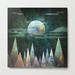 Mystery Moon Metal Print