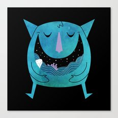 Swallowed By The Sea Canvas Print
