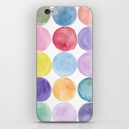dotted and well organized iPhone Skin
