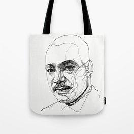 Martin L. King Jr. Tote Bag