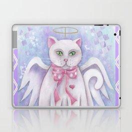 The Angel Cat Laptop & iPad Skin