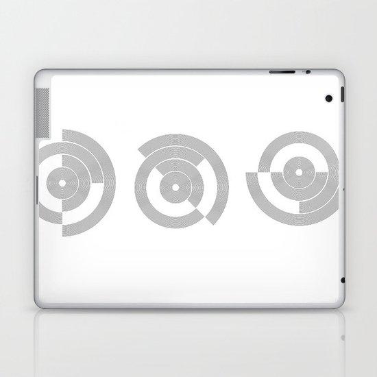 circle pattern 01 Laptop & iPad Skin
