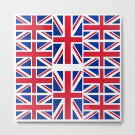 British Flag Metal Print