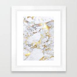Original Gold Marble Framed Art Print