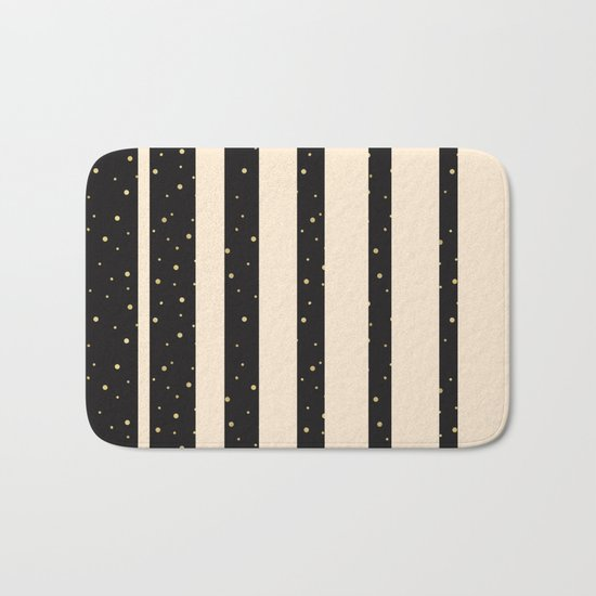 Let it golden snow Bath Mat
