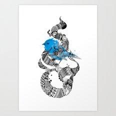 Tweet Your Art. Art Print