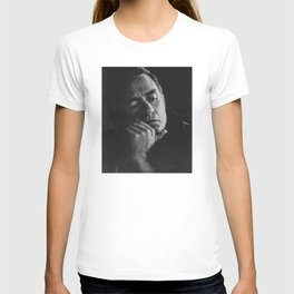 A Contemplative Johnny Cash  T-shirt