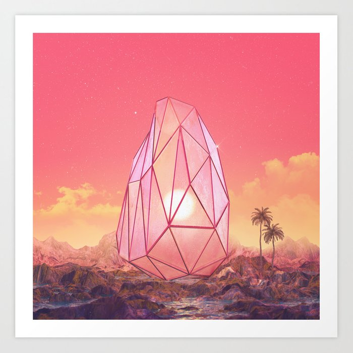 Inner sunrise Art Print
