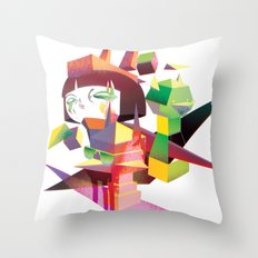 Sugar Cubed Throw Pillow