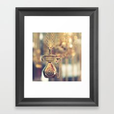 i just called to say ...  Framed Art Print